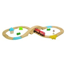 Plantoys train set 29 pezzi