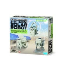 4M Kidz Lab Green Eco Engineering Robot solare Mini