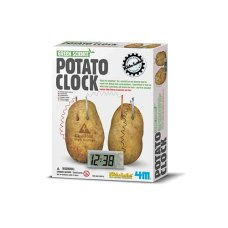 Orologio da 4M Kidz Lab Green Science Potato