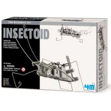 Kit meccanico 4M Kidz Lab Fun Insectoid
