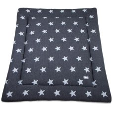 Baby's Only Boxcloth Star Antracite (80x100)