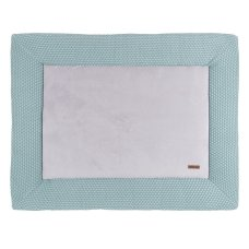 Baby's Only Boxcloth Sun Narrow Mint with Stonegreen (75x95)