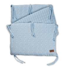 Baby's Only Bedbedper Cable Baby Blue