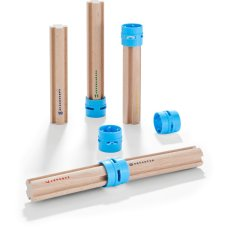 Haba Ball track Set di prolunga Rollebollen High Pillars
