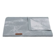 Coperta Baby's Only Cot Marble grey / silver grey