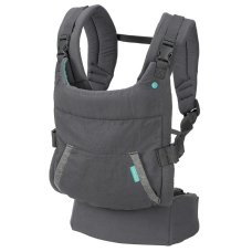 Infantino Baby Carrier Cuddle Up Ergonomic Hoodie Carrier