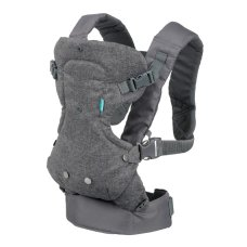 Infantino Baby Carrier Flip 4 in 1 grigio convertibile
