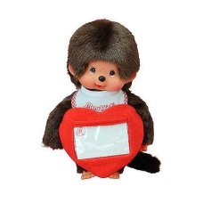 Monchichi 20 cm Boy with Love Heart