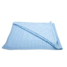 Baby's Only Scialle Cable Baby Blue