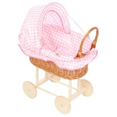 Cappuccio in tessuto Reed Reed in tessuto Playwood Doll con scacchi rosa