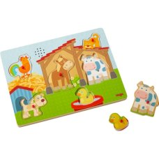Haba Sound Puzzle On the Farm