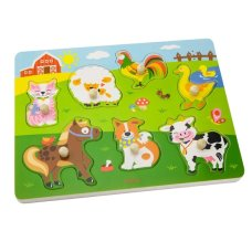 Viga Toys Knoup Puzzle con Sound Farm